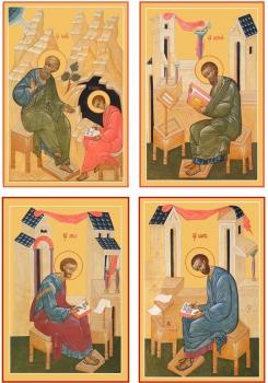 """Евангелисты """"Канон золочение"""" (арт.6437-56)"""