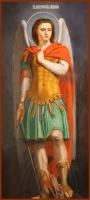 Михаил архангел, икона (арт.00181)