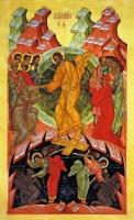 Воскресение Христово, икона (арт.03001)