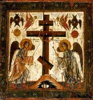 Воздвижение Честного и Животворящего Креста Господня, икона (арт.03303)