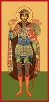 Александр Невский благоверный князь, икона (арт.00403)