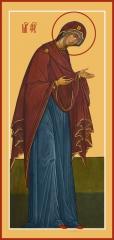 Деисусная икона Божией Матери (арт.06270)