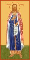Андрей Смоленский благоверный князь, икона (арт.06458)
