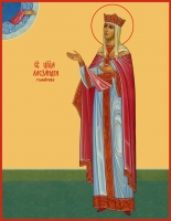 Александра (Романова), императрица, страстотерпица, икона (арт.06529)