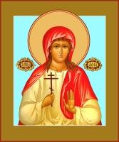 Алла Готфская мученица, икона (арт.06567)