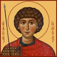 Георгий Победоносец великомученик, икона (арт.06571)