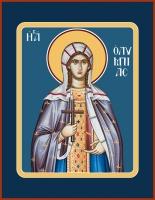 Олимпиада Константинопольская диаконисса, икона  (арт.06599)
