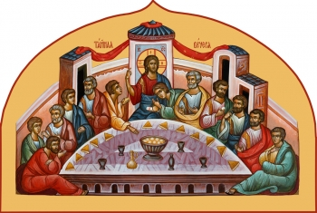 Тайная Вечеря, икона (арт.06686)