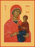 Анна, мать Пресвятой Богородицы, праведная, икона (арт.06806)