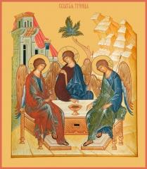 Святая Троица икона (арт.00681)
