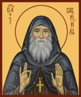 Гавриил (Ургебадзе) архимандрит, преподобный, икона (арт.06834)