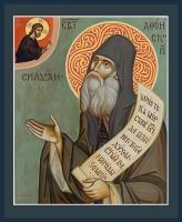 Силуан Афонский преподобный, икона (арт.06841)