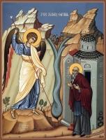 Архип (Архипп) Херотопский преподобный, икона (арт.06855)