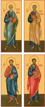 """Евангелисты """"Канон золочение"""" (арт.6071-74)"""