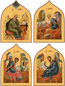 """Евангелисты """"Канон золочение"""" (арт.6496-99)"""