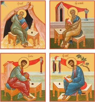 """Евангелисты """"Канон золочение"""" (арт.6450-53)"""