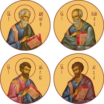 Евангелисты. Царские Врата
