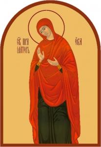 Иконы святых жен