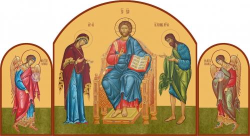 Деисусные ряды иконостаса