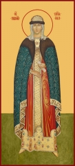 Ольга равноапостольная великая княгиня, икона (арт.06070)