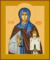 Ангелина Сербская блаженная, икона (арт.00066)