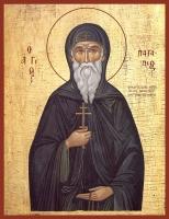 Патапий Египетский преподобный, икона (арт.00095)