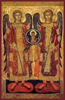Гавриил и Михаил архангелы, икона (арт.01612)