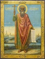 Владимир равноапостольный великий князь, икона (арт.04001)