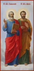 Святые Апостолы Варфоломей (Нафанаил) И Фома (Дидим), икона (арт.04470)