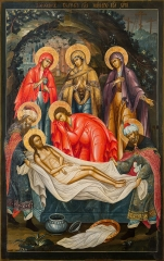 Положение во гроб, икона (арт.04664)