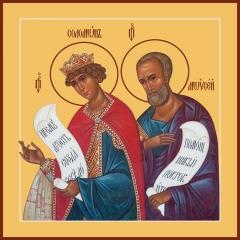 Соломон и Моисей пророки, икона (арт.06037)