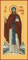 Даниил Московский благоверный князь (в схиме), икона (арт.06040)