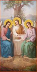 Святая Троица икона (арт.06131)
