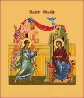 Благовещение Пресвятой Богородицы, икона (арт.00633)