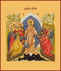 Воскресение Христово, икона (арт.00638)