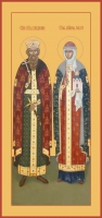 Владимир и Ольга равноапостольные великие князья, икона (арт.06414)