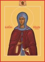 Анна Кашинская благоверная великая княгиня, икона (арт.06443)