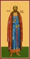 Михаил Черниговский благоверный князь мученик, икона (арт.06523)