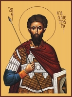 Каллистрат  мученик, икона (арт.06589)