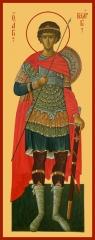 Георгий Победоносец великомученик, икона  (арт.06592)