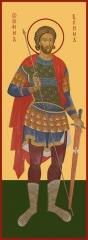 Иоанн Воин мученик, икона (арт.06593)