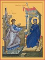 Благовещение Пресвятой Богородицы, икона (арт.06602)