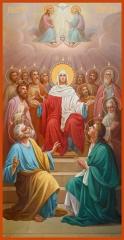 Сошествие Святого Духа, икона (арт.06647)