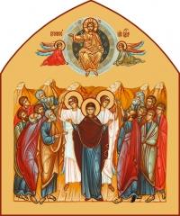 Вознесение Господне, икона (арт.06675)