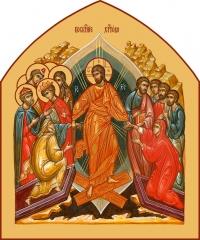 Воскресение Господне, икона (арт.06676)