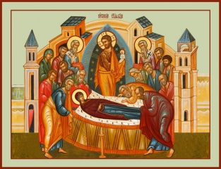 Успение Пресвятой Богородицы, икона (арт.06683)