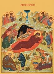 Рождество Христово, икона, икона (арт.00668)