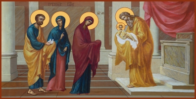 Сретение Господне, икона  (арт.06694)