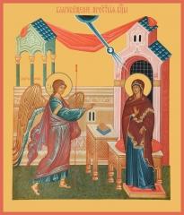 Благовещение Пресвятой Богородицы, икона (арт.00677)