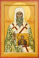 Иоанн, архиепископ Новгородский, святитель икона (арт.06783)